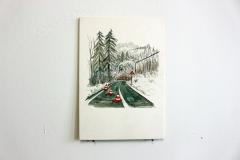 sächsische schweiz, 17x20cm