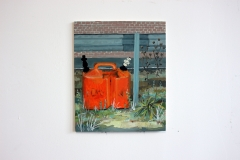 Kanister am Straßenrand, 33x40,5cm